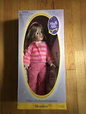 """Magic Attic 18"""" Heather Doll NEW N BOX"""