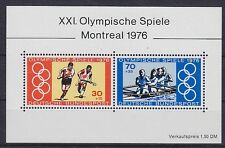 Bund Block 12 **, Olympiade Montreal 1976, postfrisch, MNH