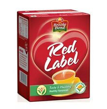 5X250 GM BROOKE BOND RED LABEL TEA TASTY & HEALTHY WITH FREE WORLDWIDE SHIPPING