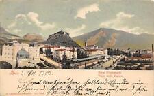 2578) ARCO (TRENTO9 VIALE DELLE PALME ANIMATA VIAGGIATA NEL 1903.