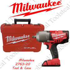 """Milwaukee 2763-20 M18 FUEL 1/2"""" High Torque Impact Wrench TOOL & CASE COMBO !!!!"""