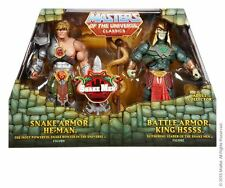 #AUSPACK# Snake Armor He-Man vs. Battle Armor King Hssss 2015 MOTU CLASSICS