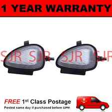 2X FOR VOLKSWAGEN TOURAN 2010 On 6 WHITE LED UNDER MIRROR PUDDLE LIGHT LAMPS