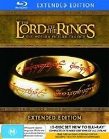 LORD OF THE RINGS : THE EXTENDED TRILOGY   -  Blu Ray - Sealed Region B for UK