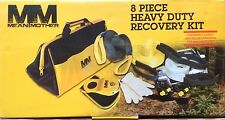 Mean Mother 8-Piece Heavy Duty Off-Road Recovery Strap Kit w/Snatch Block & Bag