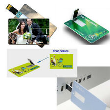 10 custom Printed business card 4GB 2.0 usb flash drives memory stick pen drive