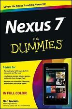 Nexus 7 for Dummies book by Dan Gookin and Sandra Geisler (2012,...