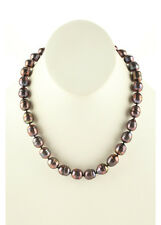 DESIGNER Purple Fresh Water Pearl Strand Necklace