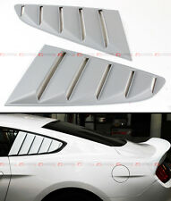 For 2015-17 Ford Mustang S550 Side Vent Window Quarter Scoop Louver Primer Cover
