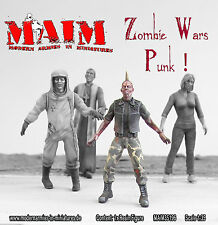 Zombie - Punk / 1:35  scale resin model kit - Zombie wars
