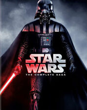 STAR WARS The Complete Saga Episodes 1-6 NEW DVD box set