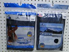New Men's ICEtex Fleece Thermal Underwear Set Navy Medium