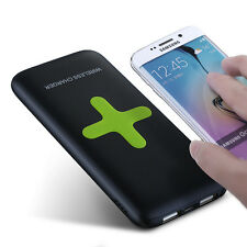 7000mAh Qi Wireless Charger Charging Pad Power Bank For Samsung Galaxy S7 S6 S5
