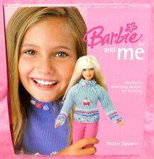 Barbie Doll and Me by Nicky Epstein 45 Matching Knit Patterns Knitting Designs