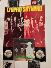 Lynyrd Skynyrd Gimme Back My Bullets MCA Promo Poster Display