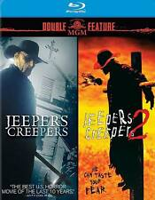Jeepers Creepers 1 & 2 NEW Blu-Ray Disc/Case/Cover-no digital DOUBLE FEATURE