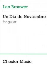 Un Dia de Noviembre Sheet Music for Guitar NEW 014005189