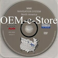2005 2006 2007 Audi A6 S6 Avant Quattro Sedan Wagon Navigation DVD Map US Canada
