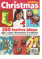 FAMILY FUN,  CHRISTMAS, A SPECIAL EDITION, 2011(165 FESTIVE IDEAS  GIFTS,RECIPES