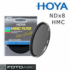 Hoya Graufilter Neutral Density NDx8 ND8 HMC Filter - 62mm 62 mm