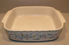 NEW Medium Square Baking Dish, Toscana Pattern GIEN