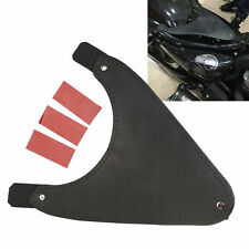 Black Seat Frame Cover For Harley Sportster XL1200 883 Solo Seat Dust/Rain Proof