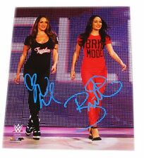 WWE BELLA TWINS NIKKI & BRIE SIGNED AUTOGRAPHED 8X10 PHOTO FILE PHOTO COA 33