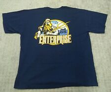 Enterprise CVN65 t shirt Size XL Big E