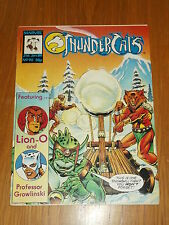 THUNDERCATS #90 21ST JANUARY 1989 BRITISH WEEKLY FREE POSTER GIFT INCLUDED