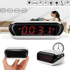 Bluetooth Digital Alarm Clock with Speaker LED Display/FM Radio/Mp3 Player/TF