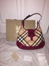 Authentic Burberry Red Handbag