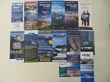 Lot of Canadian Airline Brochures  B.C. area =