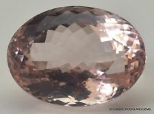 Beryl Morganite Faceted Gemstone Beryll Morganit Facettierter Edelstein 12.80 ct