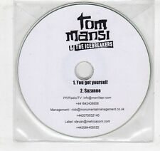 (GV657) Tom Mansi & The Icebreakers, You Got Yourself - DJ CD