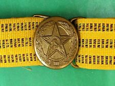 Authentic Russian Soviet USSR Red Army Officer's Parade Uniform Belt.