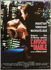 Affiche L'AVOCAT DU DIABLE Guilty as sin DON JOHNSON Rebecca De Mornay 40x60cm *