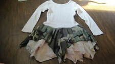 BOUTIQUE SISTER SAM 6X CAMO CAMOFLAUGE LACE HANKIE STYLE DRESS