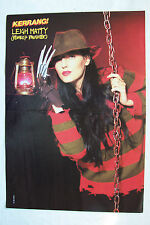 LEIGH MATTY (Romeo's Daughter) - 1990 Double Page Magazine Poster