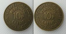 Collectable London Co-op Society Ltd - Personal 10p Credit Token