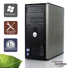 Dell Optiplex 780 MT Core 2 Quad Q9400 2.66GHz 4GB 80GB Win 7 Pro 1 Yr Wty