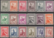 PORTUGAL SAO TOME 1938 MINT STAMP SET top 6 values MNH/MUH