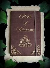 Witches Book of Shadows Triquetra and Celtic Knot Wicca Pagan Journal Grimoire
