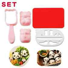 Creative Panda Shaped Nori Rice Roll Sushi Cookies Biscuit Cutter Mold Mould Yun