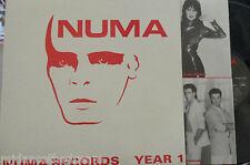 NUMA RECORDS YEAR I - Various Artists ~ VINYL LP