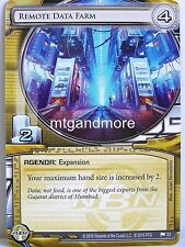 Android Netrunner LCG - 1x Remote Data Farm  #033 - Business First