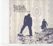 (FX154) Ben & Jason, How The Hell Do I Explain? - 2002 DJ CD