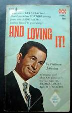 And Loving It ! Book by William Johnston 1967 TV Show Tempo Don Adams