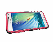 Heavy Duty Tough ShockProof Builder Stand Case Cover For Samsung Galaxy Phones