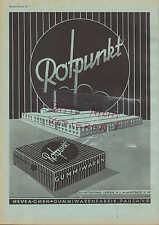 PAUSA LEIPZIG, Werbung 1942, Hevea GmbH Gummiwaren-Fabrik Rotpunkt Gummi-Waren