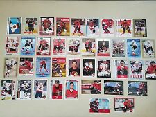 Lot 44 Ottawa Senators Hockey w/Heatley x14, Alfredson x8, Eaves, Spezza, Zubov+